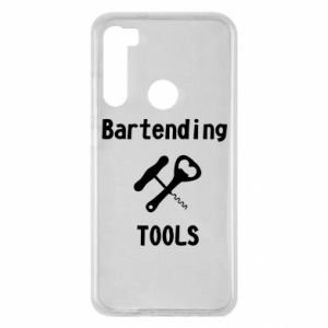 Xiaomi Redmi Note 8 Case Bartending tools