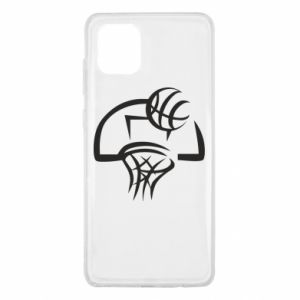 Samsung Note 10 Lite Case Basketball