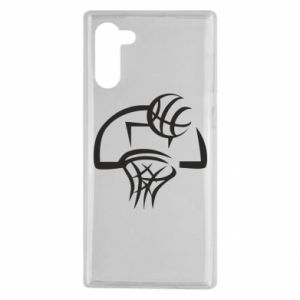 Samsung Note 10 Case Basketball