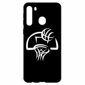 Samsung A21 Case Basketball
