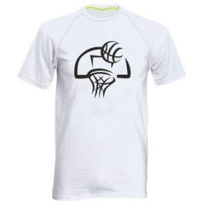 Męska koszulka sportowa Basketball