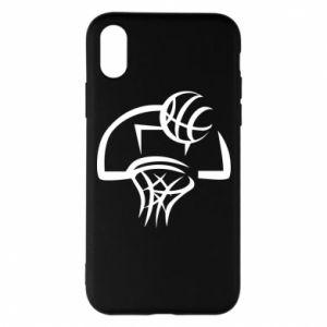 Etui na iPhone X/Xs Basketball