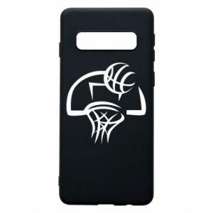 Etui na Samsung S10 Basketball