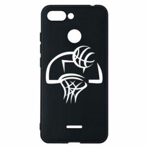 Etui na Xiaomi Redmi 6 Basketball