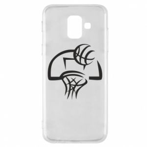 Etui na Samsung A6 2018 Basketball