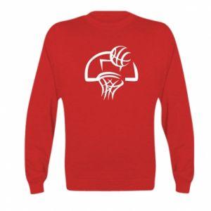 Kid's sweatshirt Basketball