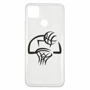 Xiaomi Redmi 9c Case Basketball