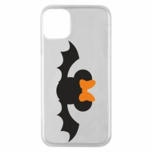 Etui na iPhone 11 Pro Bat with orange bow