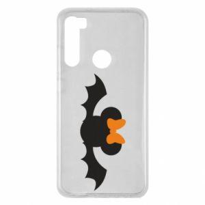 Etui na Xiaomi Redmi Note 8 Bat with orange bow