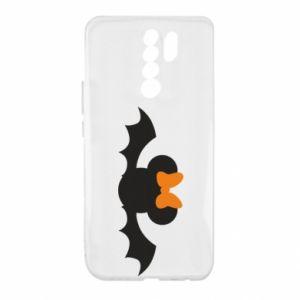 Etui na Xiaomi Redmi 9 Bat with orange bow