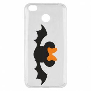 Etui na Xiaomi Redmi 4X Bat with orange bow