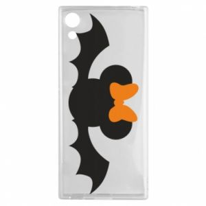 Etui na Sony Xperia XA1 Bat with orange bow