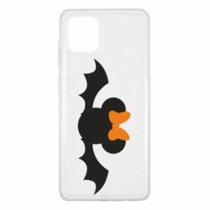 Etui na Samsung Note 10 Lite Bat with orange bow