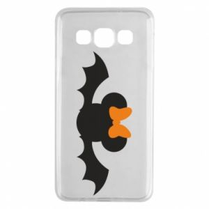 Etui na Samsung A3 2015 Bat with orange bow