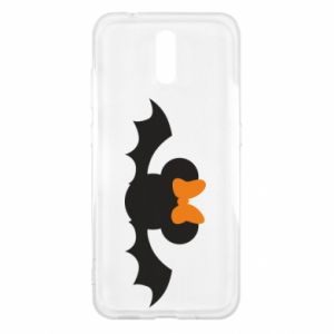 Etui na Nokia 2.3 Bat with orange bow