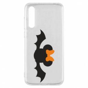 Etui na Huawei P20 Pro Bat with orange bow
