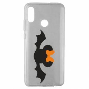 Etui na Huawei Honor 10 Lite Bat with orange bow