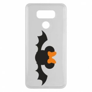 Etui na LG G6 Bat with orange bow