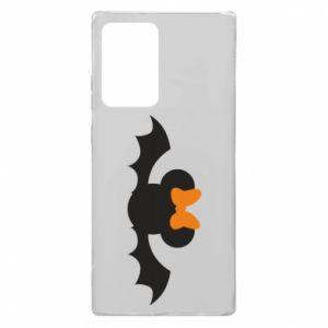 Etui na Samsung Note 20 Ultra Bat with orange bow