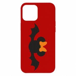 Etui na iPhone 12 Pro Max Bat with orange bow