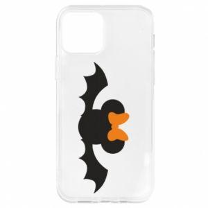 Etui na iPhone 12/12 Pro Bat with orange bow