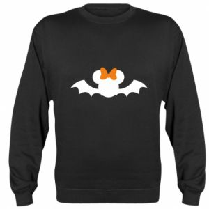 Bluza (raglan) Bat with orange bow