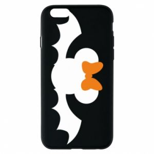 Etui na iPhone 6/6S Bat with orange bow