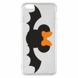Etui na iPhone 6 Plus/6S Plus Bat with orange bow