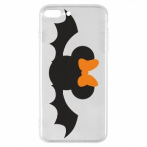 Etui na iPhone 7 Plus Bat with orange bow