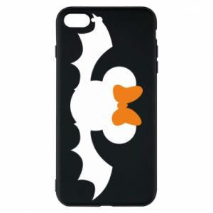 Etui na iPhone 8 Plus Bat with orange bow
