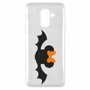 Etui na Samsung A6+ 2018 Bat with orange bow