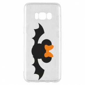 Etui na Samsung S8 Bat with orange bow