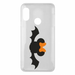 Etui na Mi A2 Lite Bat with orange bow