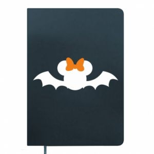 Notes Bat with orange bow