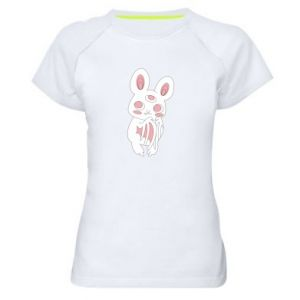 Women's sports t-shirt Bat with three eyes