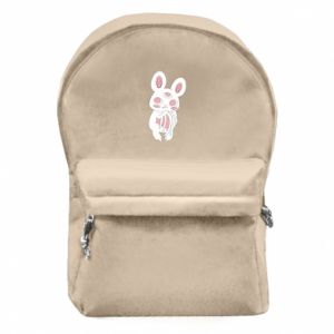 Backpack with front pocket Bat with three eyes - PrintSalon
