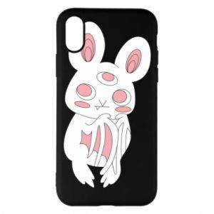 Etui na iPhone X/Xs Bat with three eyes