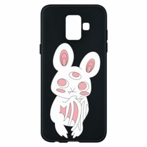 Etui na Samsung A6 2018 Bat with three eyes