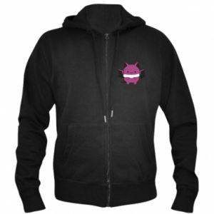Men's zip up hoodie Batсat - PrintSalon