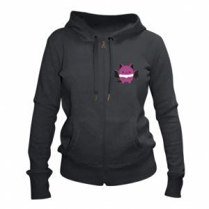 Women's zip up hoodies Batсat - PrintSalon