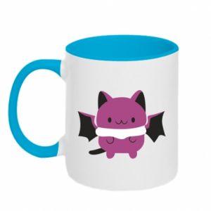 Two-toned mug Batсat - PrintSalon