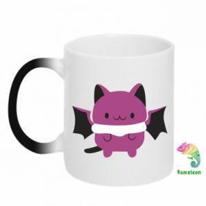 Chameleon mugs Batсat - PrintSalon