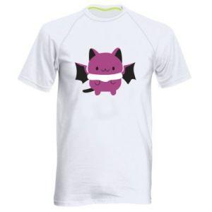 Men's sports t-shirt Batсat - PrintSalon