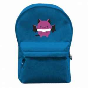 Backpack with front pocket Batсat - PrintSalon