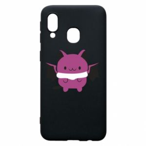 Phone case for Samsung A40 Batсat - PrintSalon