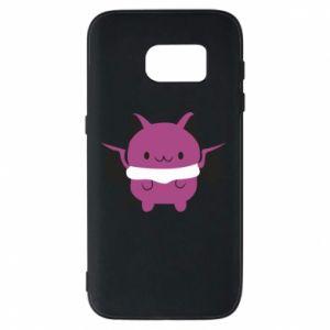 Phone case for Samsung S7 Batсat - PrintSalon