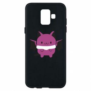 Phone case for Samsung A6 2018 Batсat - PrintSalon