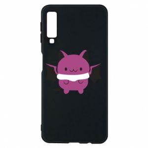 Phone case for Samsung A7 2018 Batсat - PrintSalon