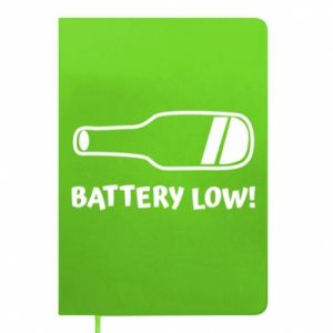 Notepad Battery low