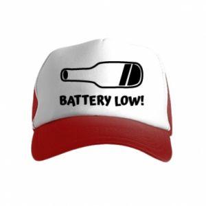 Kid's Trucker Hat Battery low